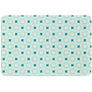 Tossing Pennies I by Catherine McDonald Bath Mat