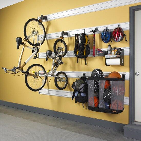 Gladiator Claw Advanced Storage Wall Mounted Bike Rack   Wayfair