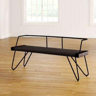Abigale Low Back Metal Bench