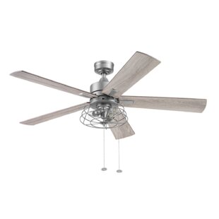 Silver Ceiling Fans You Ll Love In 2021 Wayfair