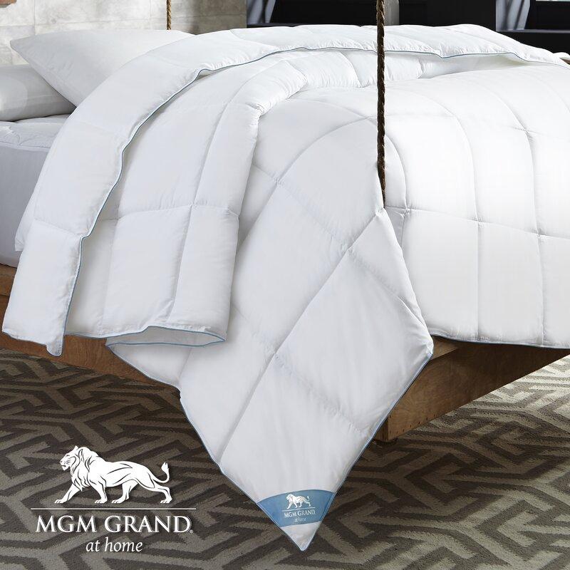 MGM GRAND at home All Season Down Alternative Comforter & Reviews ...