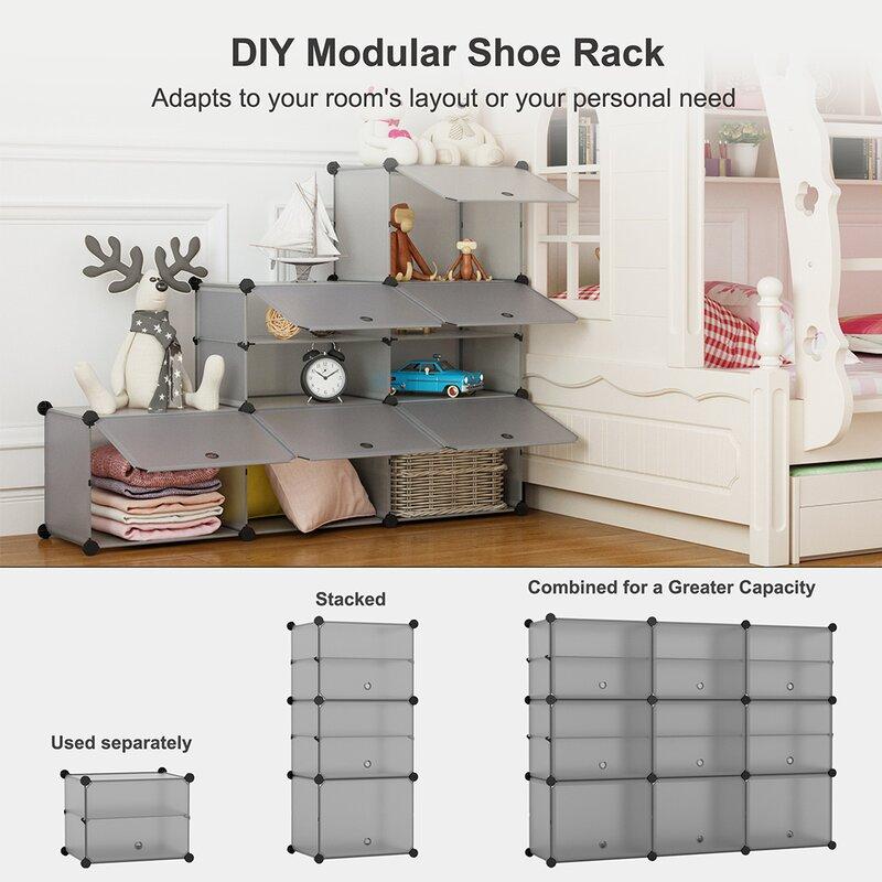 9 Cube Shoe Storage Cabinet