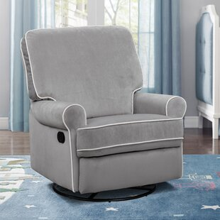 Kroll Reclining Swivel Glider by Viv + Rae
