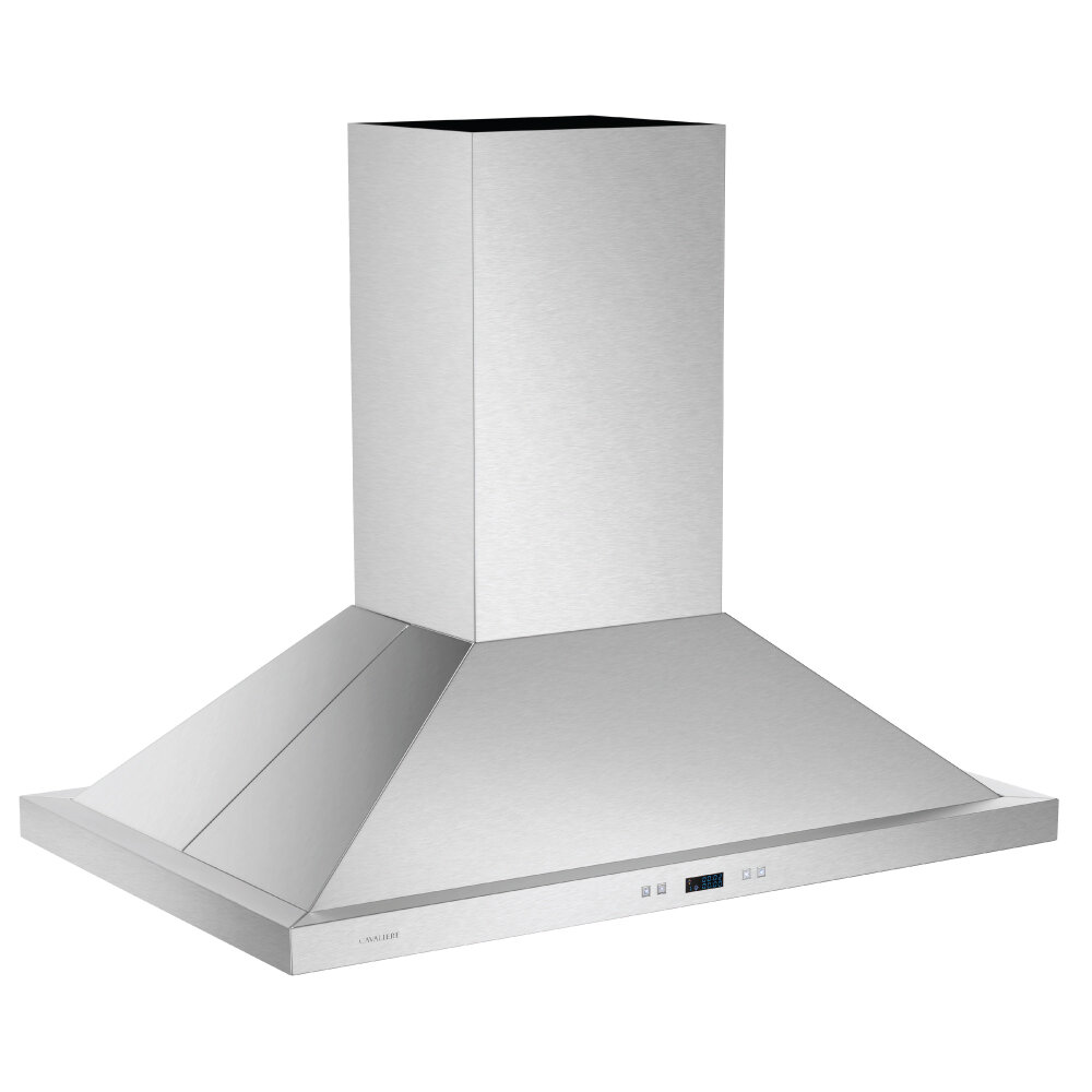 Cavaliere 36 900 Cfm Ducted Island Range Hood In Stainless Steel Reviews Wayfair