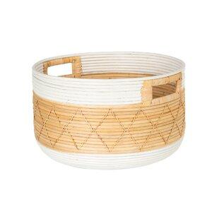 Modern Round Decorative Baskets Allmodern