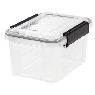 Affordable Weathertight® Plastic Storage Tote (Set of 6) By IRIS USA, Inc.