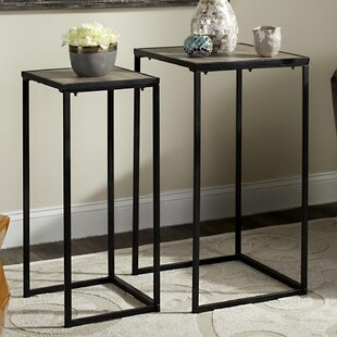 Read Reviews Little 2 Piece Nesting Tables By Mistana