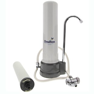 Doulton Single Stage Counter Top System with UltraCarb Ceramic Filter