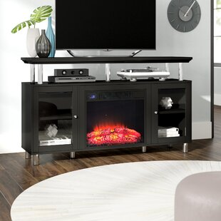 Bargain Mayers TV Stand for TVs up to 60 with Fireplace by Wade Logan Reviews (2019) & Buyer's Guide