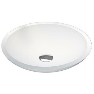 AGM Home Store Stone Oval Vessel Bathroom Sink