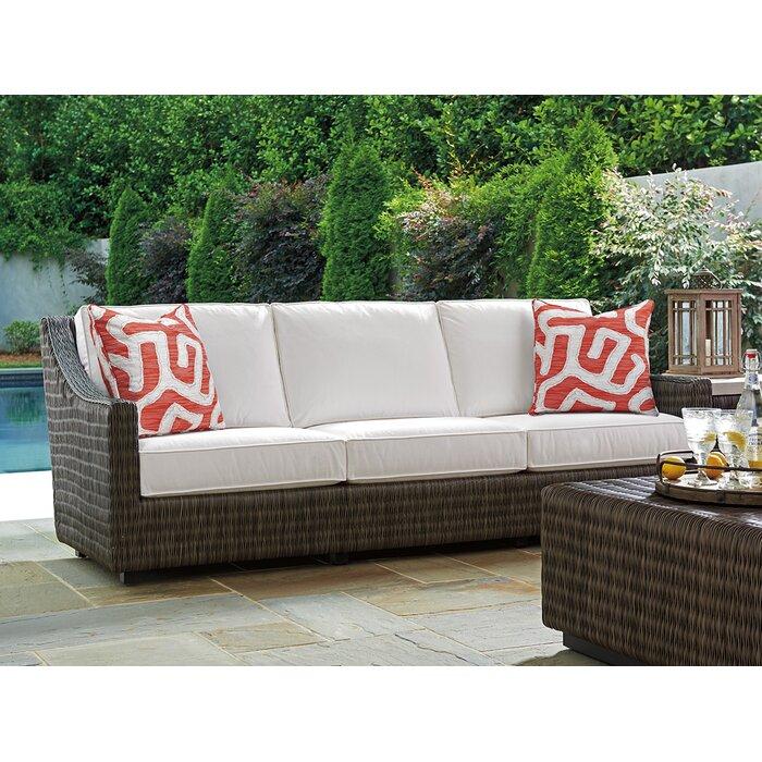 Peachy Cypress Point Ocean Terrace Patio Sofa With Cushions Camellatalisay Diy Chair Ideas Camellatalisaycom