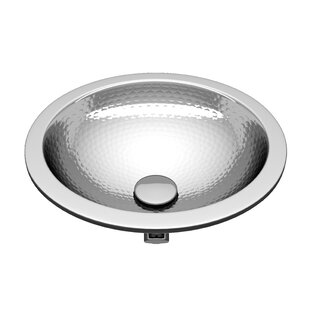 ANZZI Celestial Series Metal Circular Drop-In Bathroom Sink