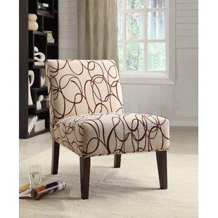 Ebern Designs Rushford Fabric Slipper Chair