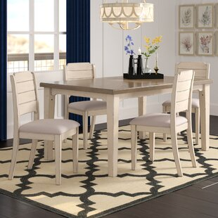 Kinsey 5 Piece Dining Set by Rosecliff He..