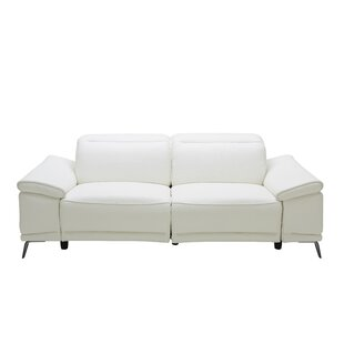 Brookville Leather Reclining Sofa