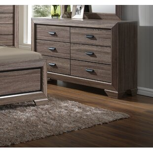 Lehn 6 Drawer Double Dresser