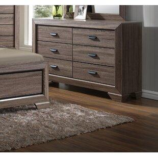 Lehn 6 Drawer Double Dresser by Union Rustic