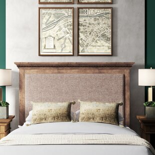 Asherton Upholstered Panel Headboard by Greyleigh