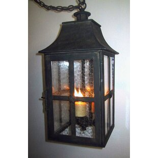 Affordable London 3-Light Outdoor Hanging Lantern By Laura Lee Designs