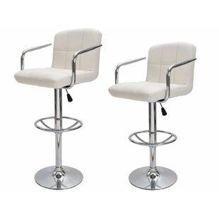 bar stools with backs and arms wayfair