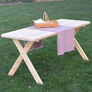 Sangerfield Pine Cross-leg Picnic Table