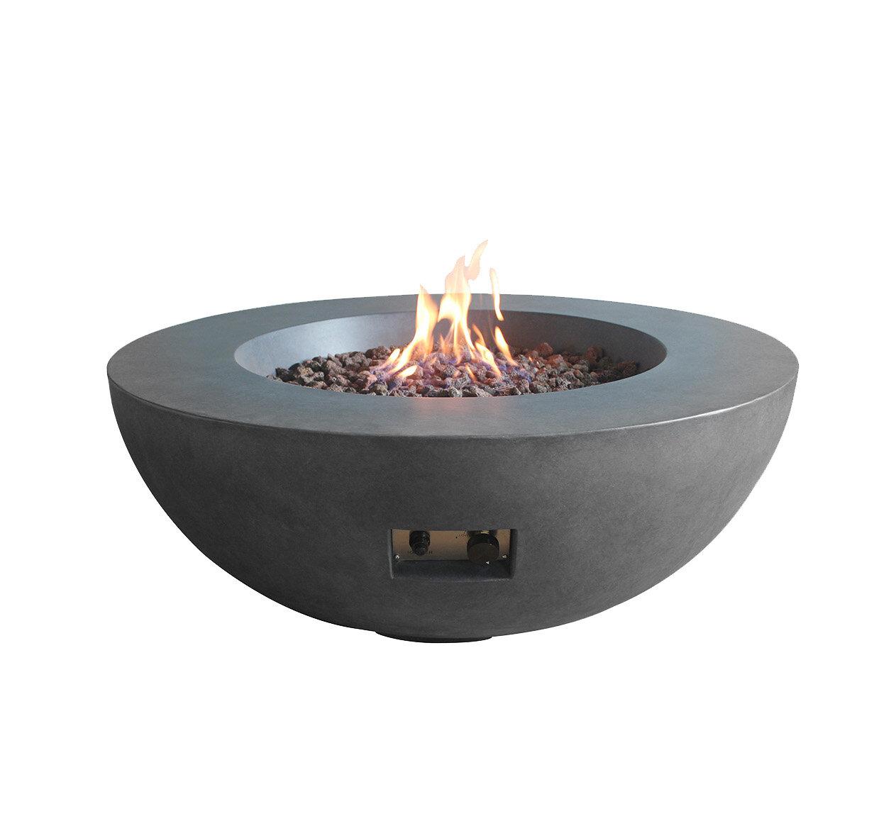 Weern Concrete Propane Fire Pit Joss Main