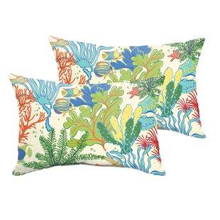 Evadne Indoor Outdoor Lumbar Pillow Set Of 2