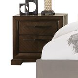 Bloomington 2 Drawer Nightstand by Foundry Select