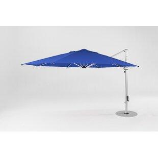 Aurora 9' Square Cantilever Umbrella by Frankford Umbrellas