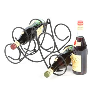Corrales 5 Bottle Tabletop Wine Bottle Rack
