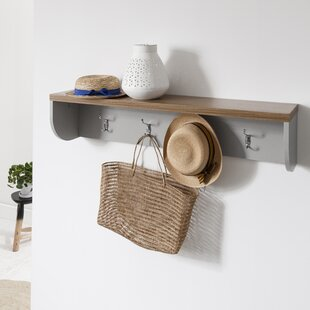 Lunado Wall Mounted Coat Rack By Brambly Cottage