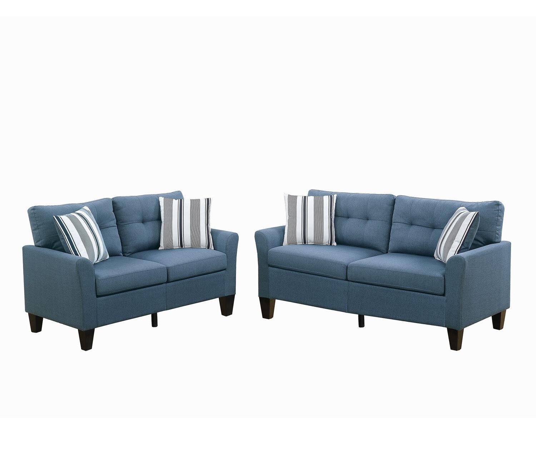 Breakwater Bay Wolfram 2 Piece Living Room Set & Reviews | Wayfair