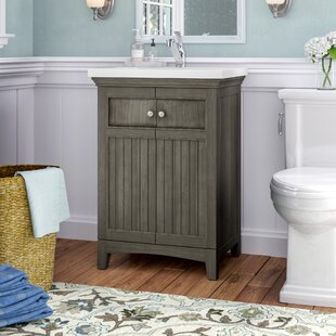Quickview Three Posts Perrone 24 Single Bathroom Vanity Set