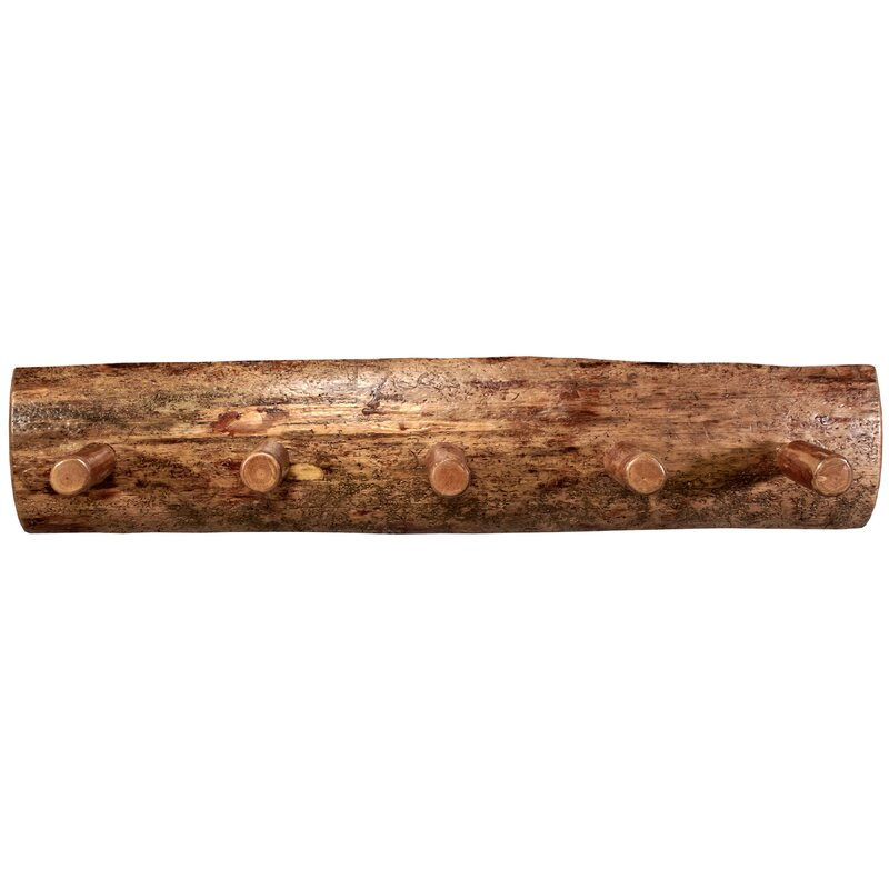 Loon Peak Tustin Wooden Coat Rack & Reviews | Wayfair