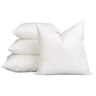 Sterilized Extra Fluff and Durable 100% Cotton Pillow Insert (Set of 2)