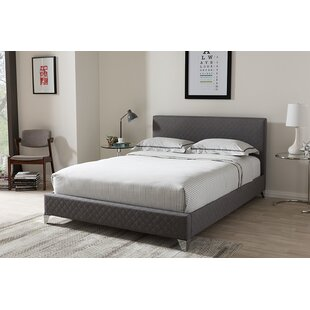 Castor Upholstered Platform Bed