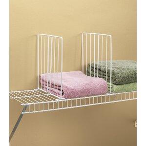 Elegant Wire Closet Shelf Divider