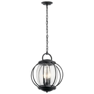 Check Prices Haddox 3-Light Outdoor Pendant By Brayden Studio
