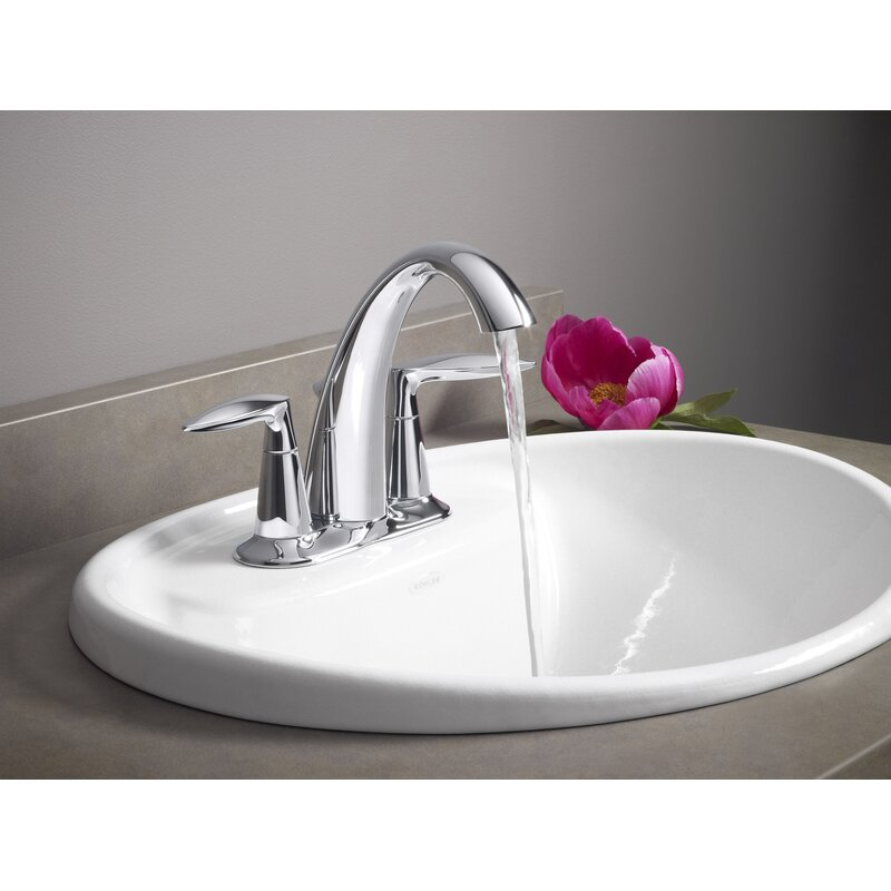 K 45100 4 Cp Bn 2bz Kohler Alteo Centerset Bathroom Sink Faucet Reviews Wayfair