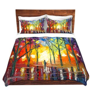 DiaNoche Designs Reflections of the Soul Duvet Cover Set