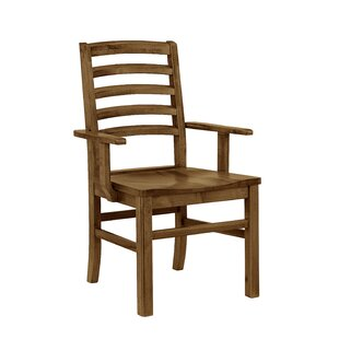 Rader Horizontal Solid Wood Dining Chair ..