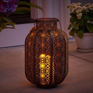 Cadiz Lantern with LED Candle