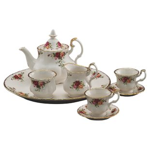 Old Country Roses Le Petite Miniature 9 Piece Teapot Set