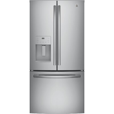 GE Appliances 17.5 cu. ft. Energy Star French Door Refrigerator