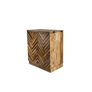 Bar Cabinet by Oak Idea Imports