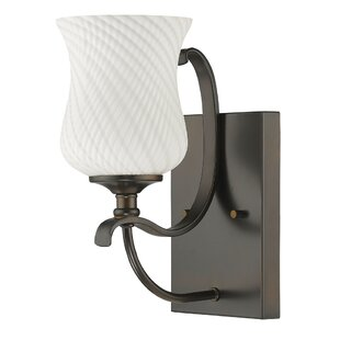 Bess 1-Light Bath Sconce by Fleur De Lis Living