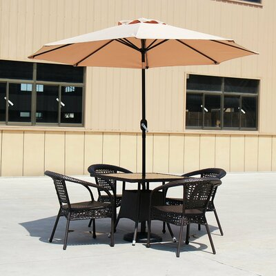Carpenter 9 Market Umbrella by Darby Home Co Best Choices