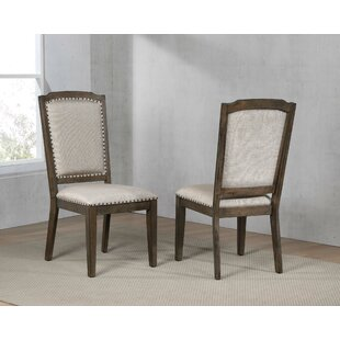 Seaver Upholstered Dining Chair (Set of 2) Gracie Oaks