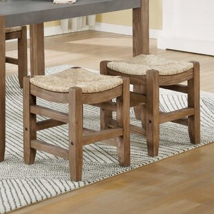 Aston Short Counter Bar Stool Set of 2 by Loon Peak