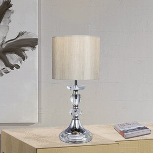 Best Reviews Crystal and Metal 15 Table Lamp By Fangio Lighting